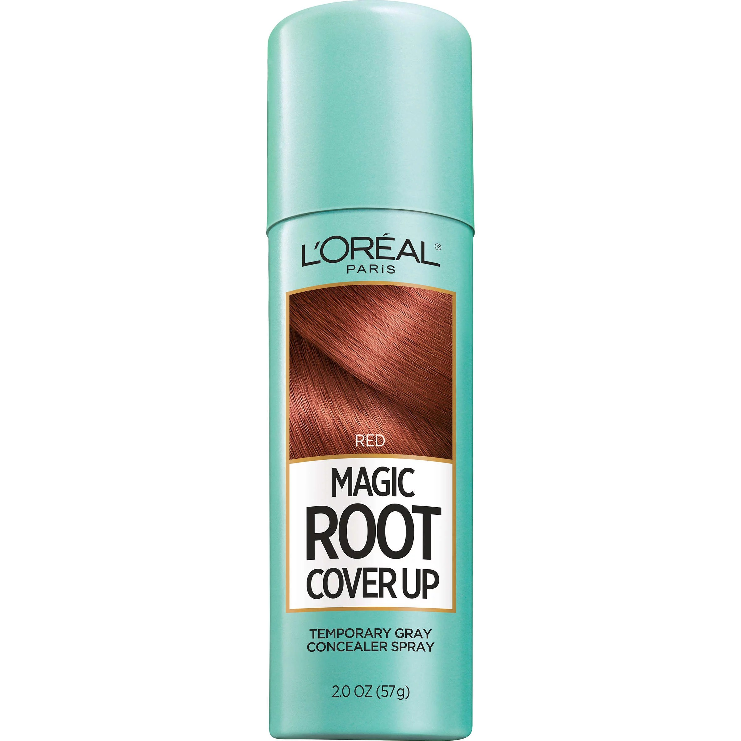 L'Oreal Paris Magic Root Cover Up Gray Concealer Spray, Red, 2 oz.