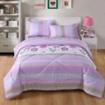 Marcielo Kids Comforter Set Girls Comforter Set Kids Bedding Set Include Sheet Set Bunk Beds For Kids Twin Full Purple Floral Twin Walmart Com Walmart Com