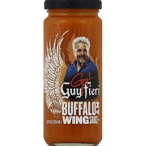 guy fieri buffalo ny wing sauce 12 fl oz pack of 6