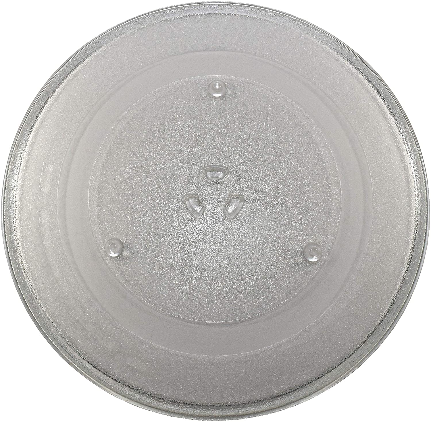 hqrp 14 1 8 inch glass turntable tray fits whirlpool maytag kitchenaid jenn air amana microwave oven cooking plate 360mm 14 125 walmart com