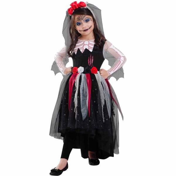 day of the dead child halloween costume walmart com day of the dead child halloween costume