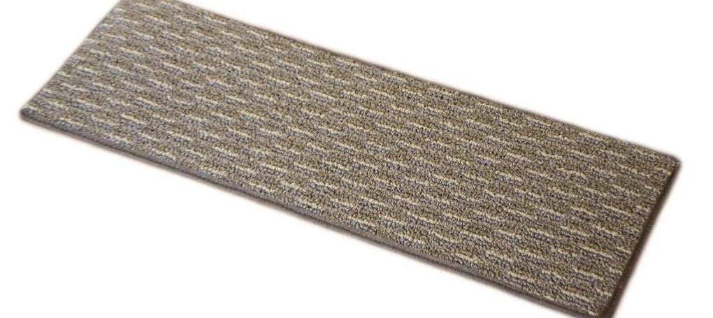 Dean Indoor Outdoor Pet Friendly Tape Free Non Slip Carpet Stair | Indoor Outdoor Carpet Stair Treads | Rug | 26 Inch | Ottomanson Jardin | Walmart | Anti Slip Stair