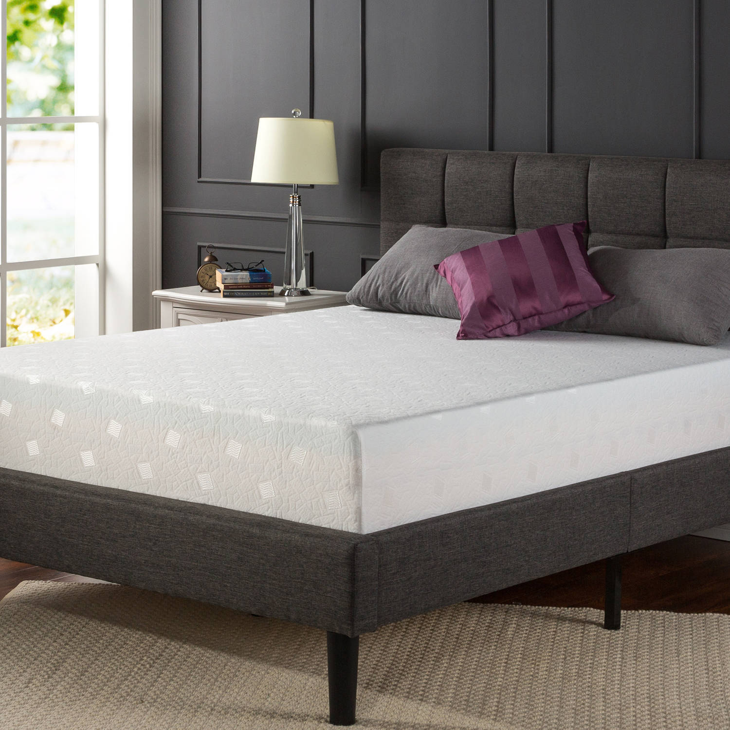 Spa Sensations 12 Memory Foam Comfort Mattress Twin Full