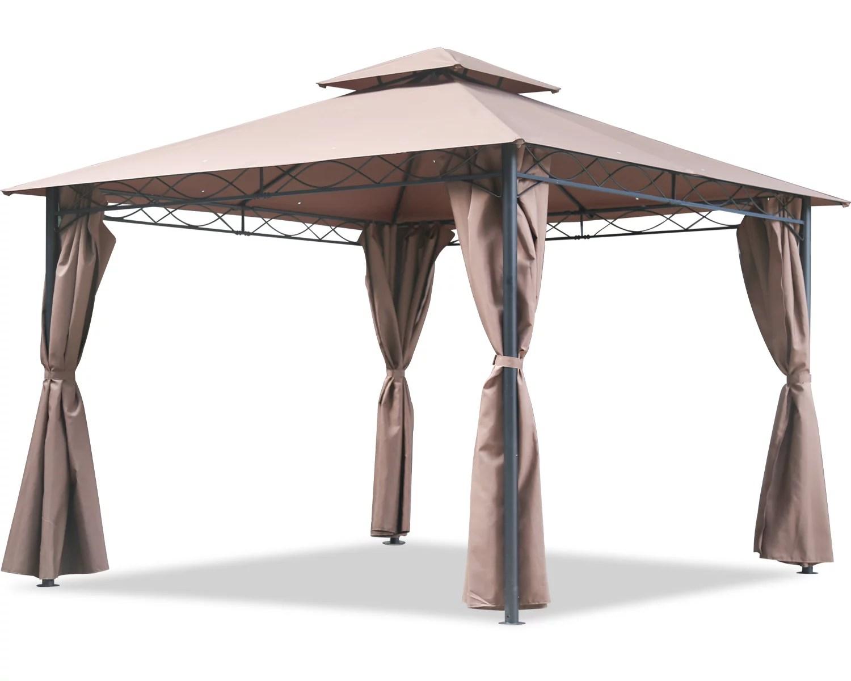 canopy tent gazebo 10 x 13 grill gazebo for patios bbq outdoor patio large garden top gazebo with sidewall party tent
