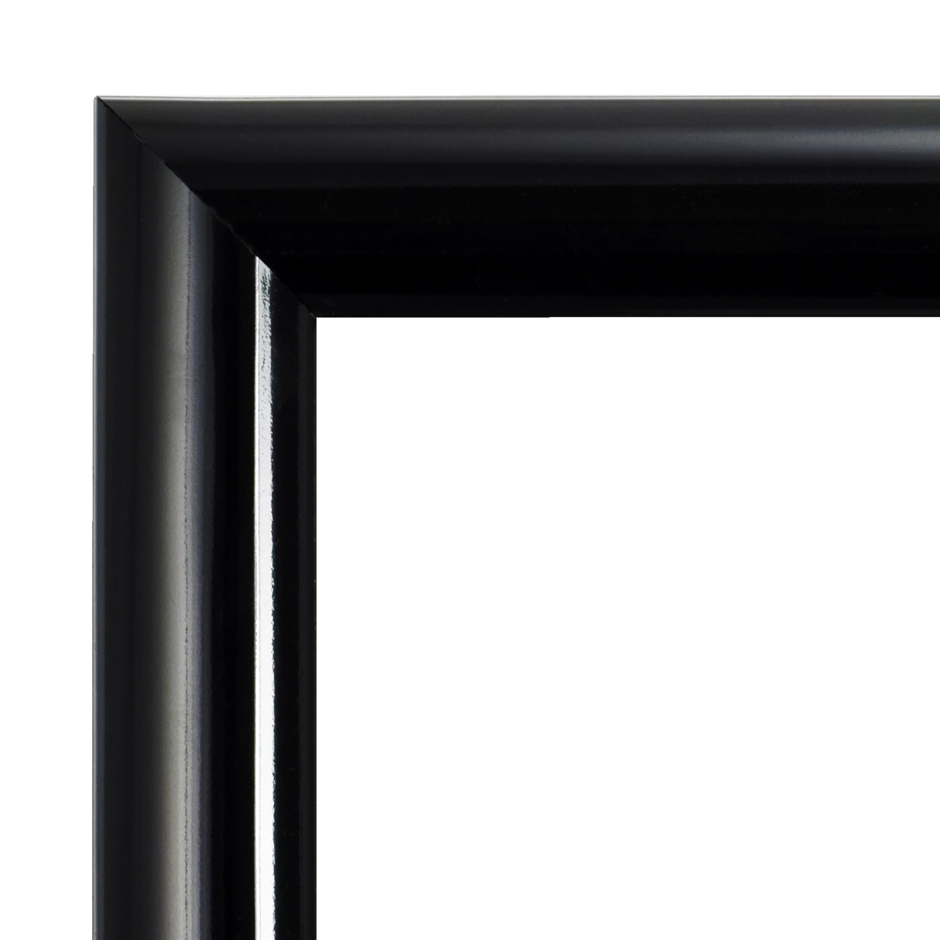 mainstays 24x36 trendsetter poster and picture frame black