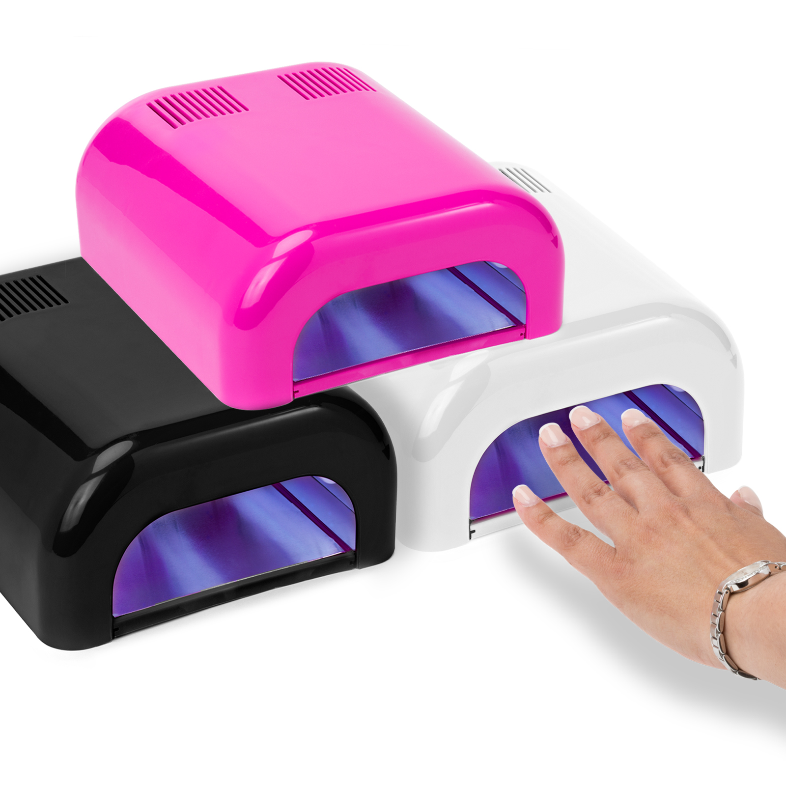 Salon Sundry Salon Sundry Uv Nail Dryer 36 Watt Professional Salon Gel Nail Polish Curing Lamp With Built In Timer Multiple Colors Available Walmart Com Walmart Com