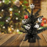 Disney Nightmare Before Christmas 16in Decorative Christmas Tree Walmart Com Walmart Com