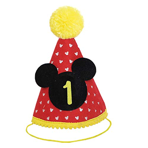 Mickey Party Hat First Birthday Outfit Boy Mickey Mouse Party Hats Cake Smash Outfit
