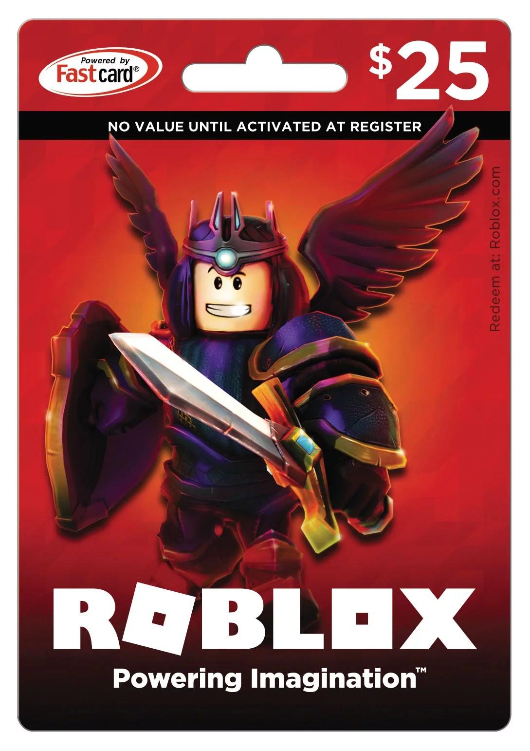 Roblox 25 Game Card Digital Download