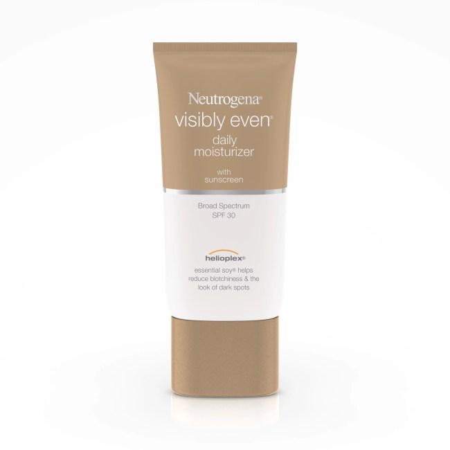 Neutrogena Visibly Even Daily Moisturizer With Broad Spectrum Spf 30 Sunscreen, 1.7 Fl. Oz.
