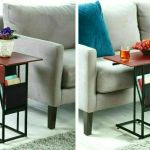 Sofa Side Table Night Stand Bedside Couch Living Room Tv Trays Expandable Drop Leaves C Shaped Snack Narrow End Table Walmart Com Walmart Com