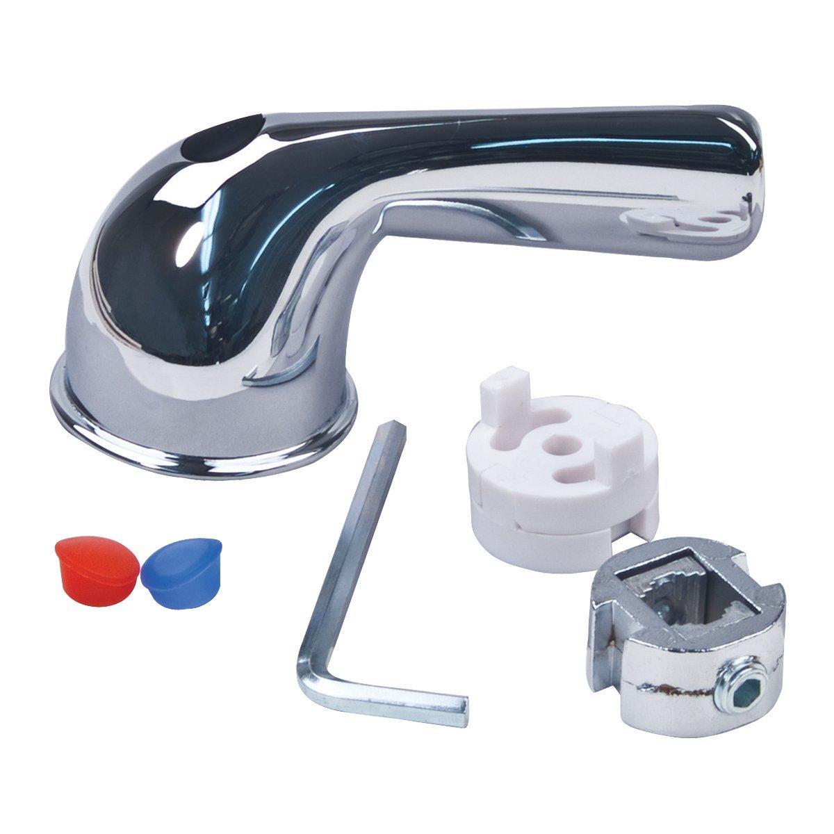 Brasscraft Sh5815 Tub And Shower Lever Faucet Handle Chrome Walmart Com Walmart Com