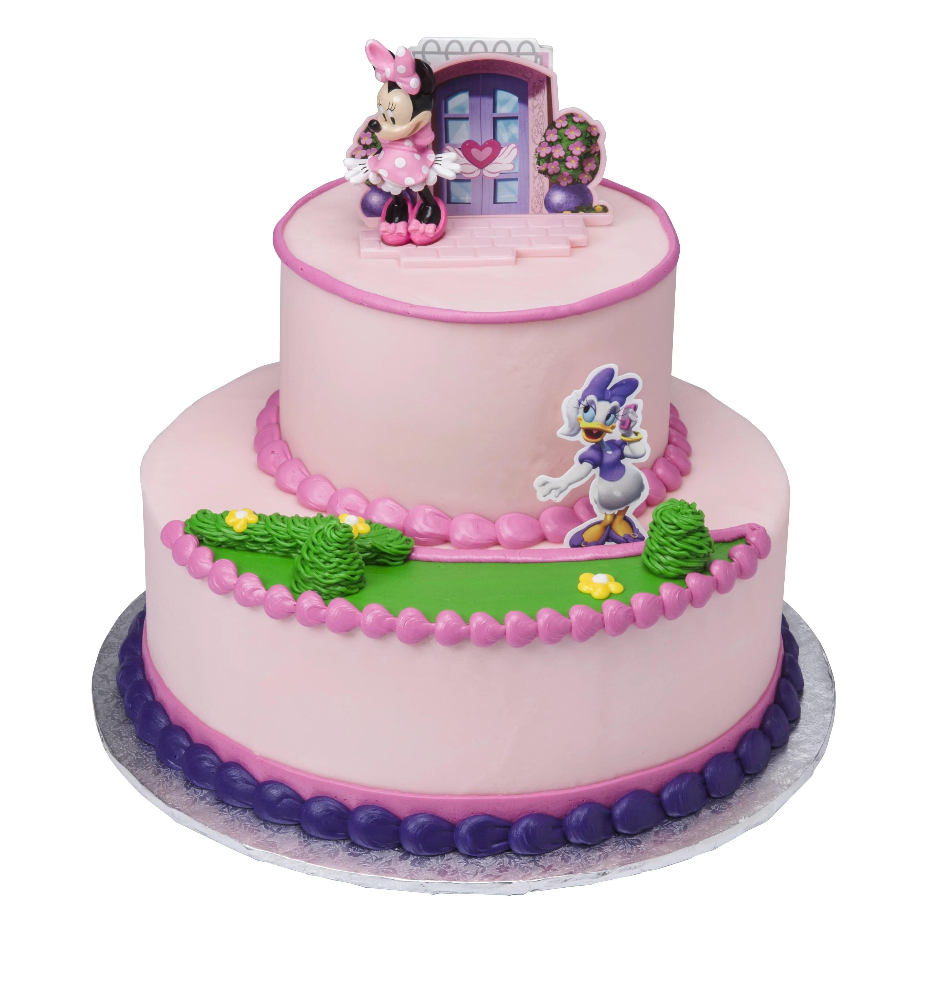 Minnie Mouse Happy Helpers Two Tier Cake Walmart Com Walmart Com