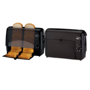 west bend quik serve toaster black