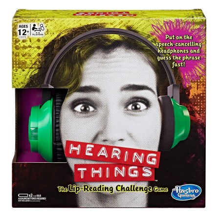 Hearing Things Game, Ages 12 and up, For 4-8 players