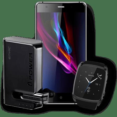 Envic ASH LTE Unlocked (Bundle of 10 Essentials)