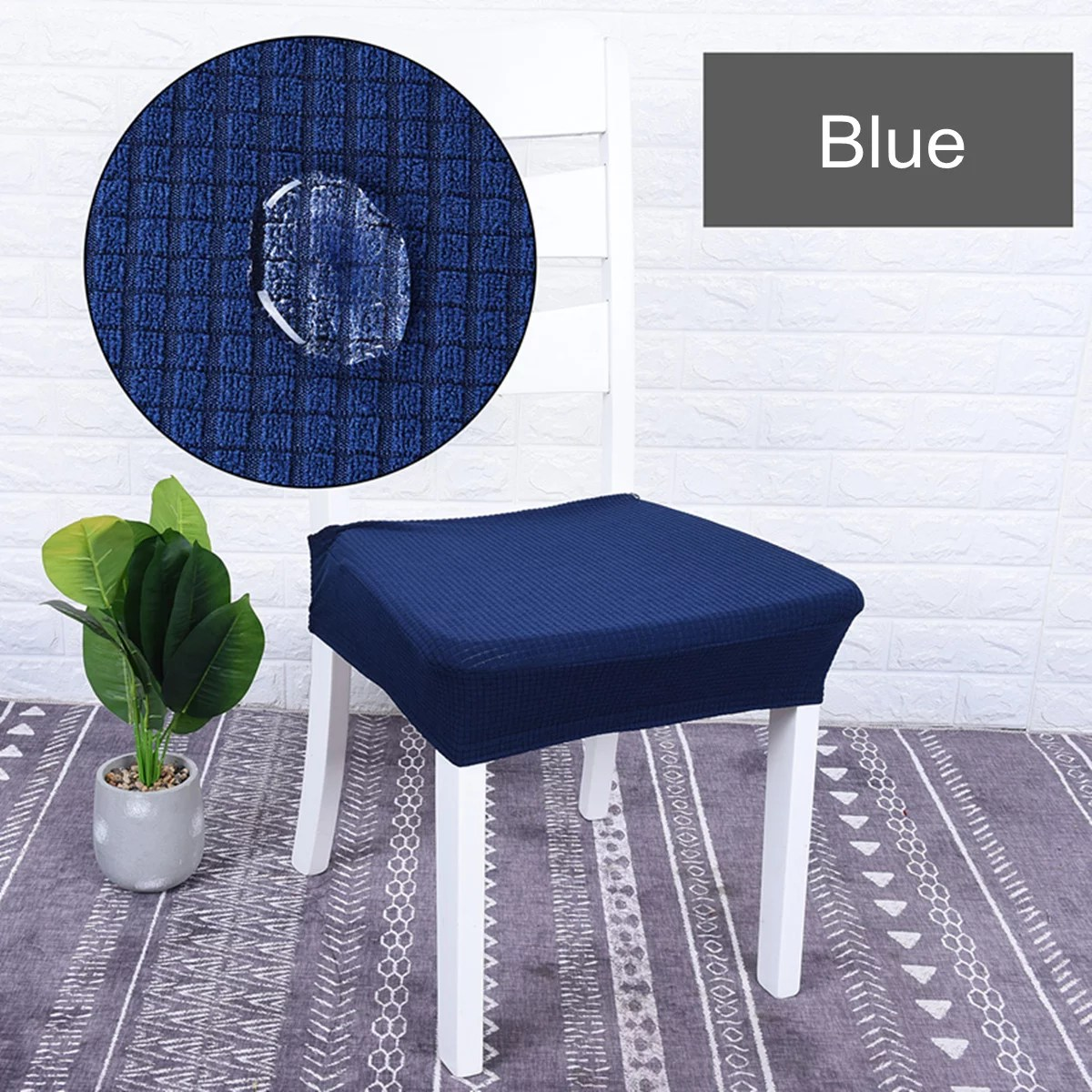 stretch dining room chair seat covers
