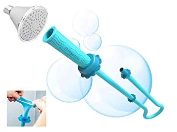 rinseroo slip on handheld showerhead attachment hose for sink and shower no installation detachable shower head sprayer for rinsing cleaning