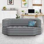 Beautyrest Silver Sofaire Convertable Sofa Sleeper Air Bed Mattress Full Size With Express Pump Walmart Com Walmart Com