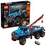 Lego Technic 6x6 All Terrain Tow Truck 42070 Walmart Com Walmart Com