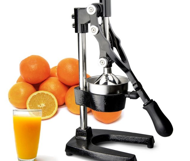 Truecraftware Commercial Citrus Juicer Hand Press Manual Juicer Extractor Fruit Juice Press Heavy