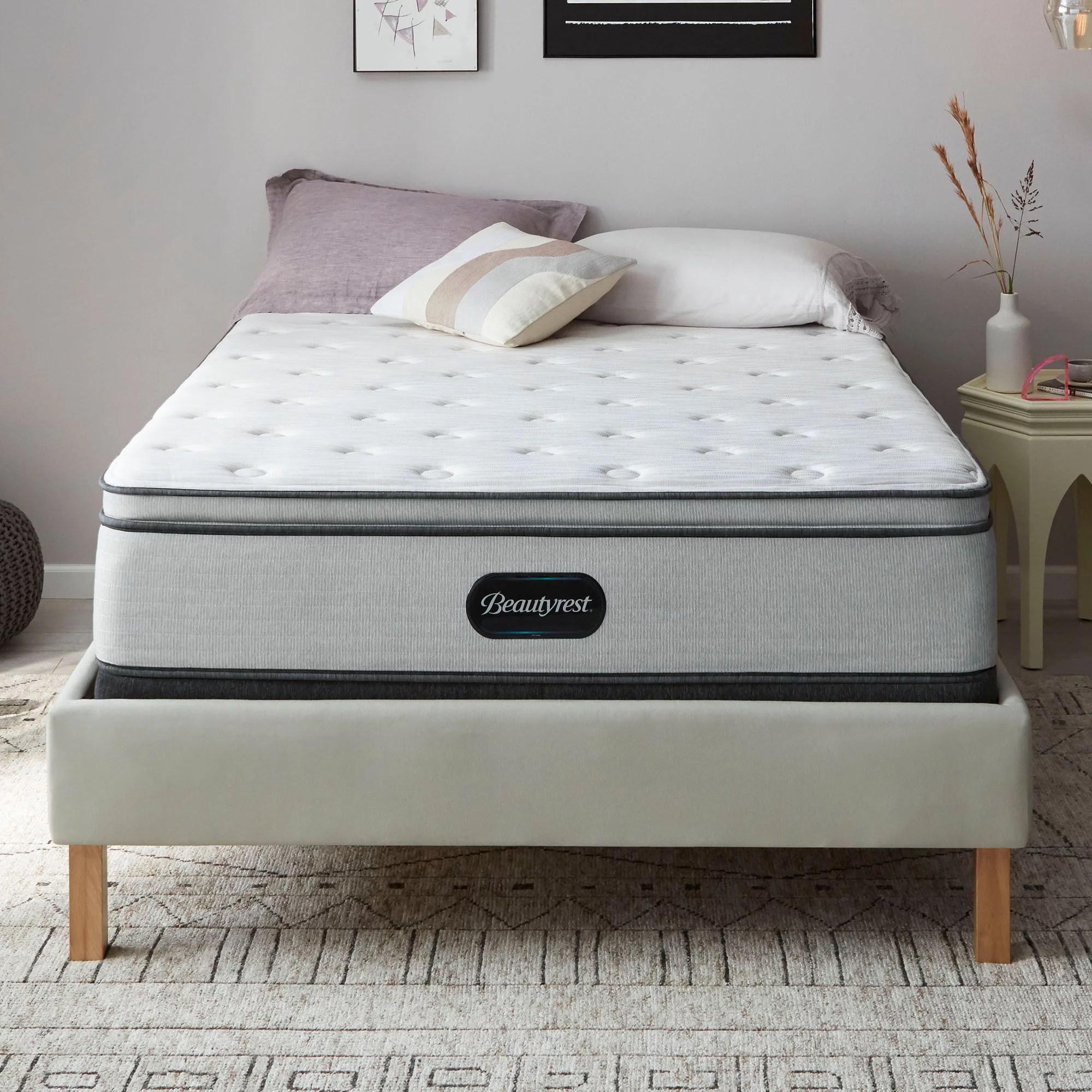 beautyrest br800 medium pillow top king mattress walmart com