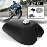 Motorcycle Cafe Racer Vintage Fuel Gas Tank With Tap For Honda Cg125 Aa001 Walmart Canada