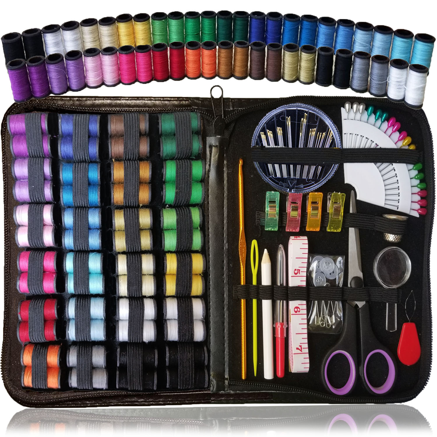 Sewing Kit Over 110 Quality Sewing Supplies 48 Spools Of