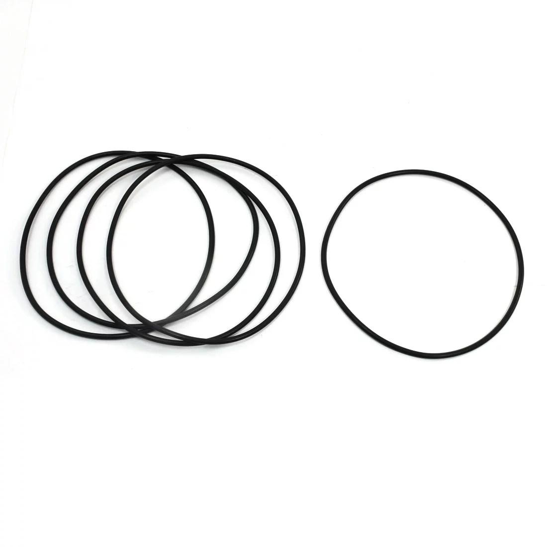 120mm X 3 1mm Sealing Oil Liquid Filter Pu O Rings Gaskets 5pcs