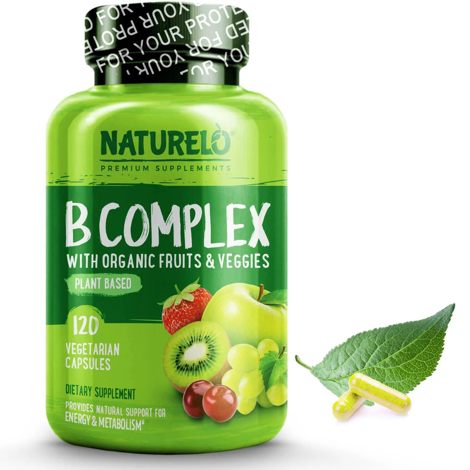 B Complex – 120 Capsules
