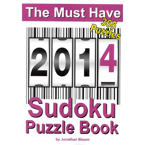 The Must Have 2014 Sudoku Puzzle Book: 365 Puzzles