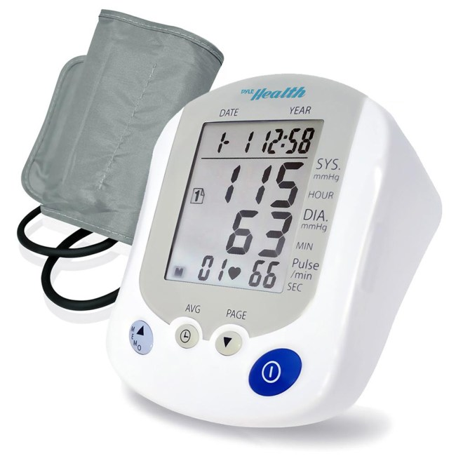 Pyle BT Blood Pressure Monitor with Downloadable Health Tracking App