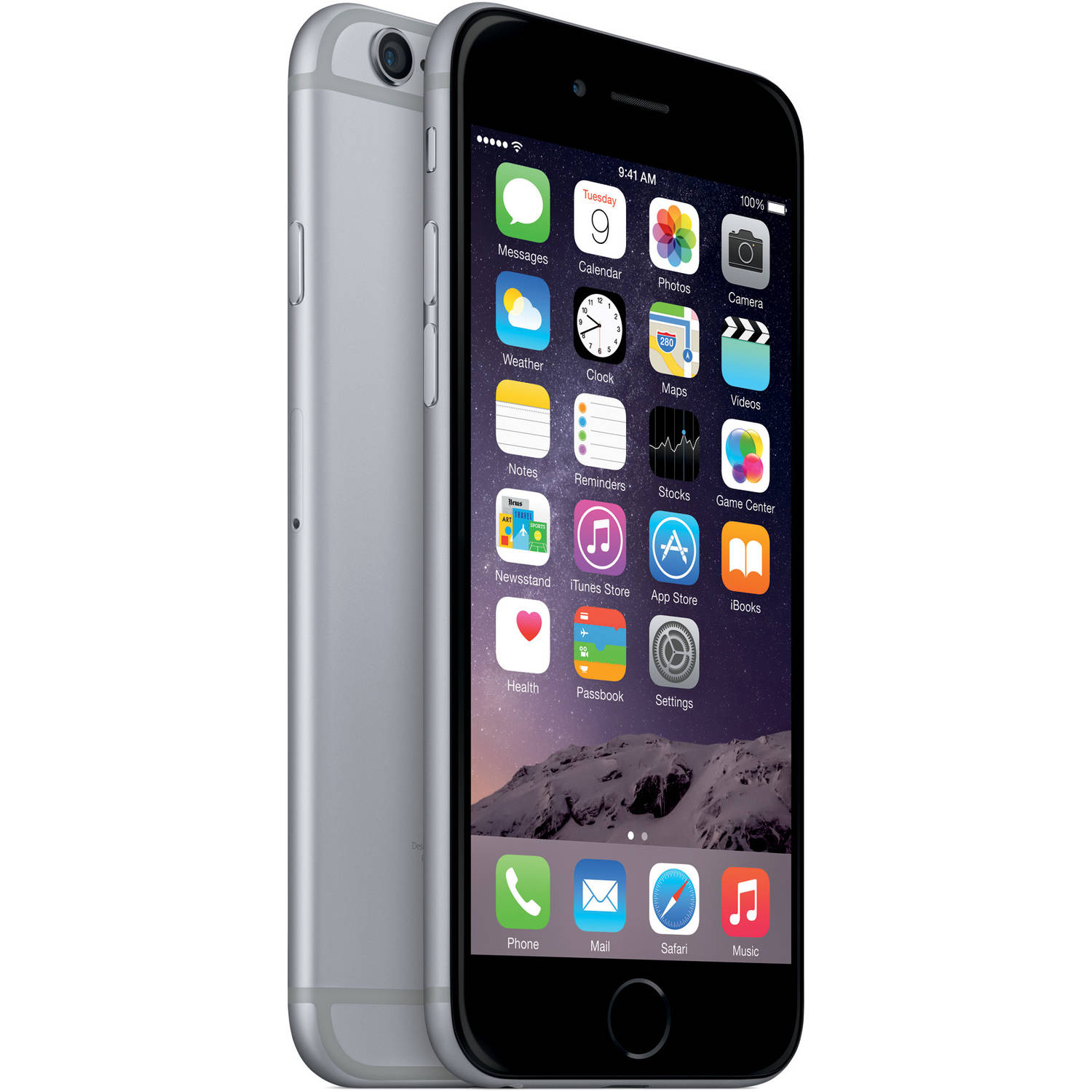 Straight Talk Prepaid Apple Iphone 6 32gb Space Gray