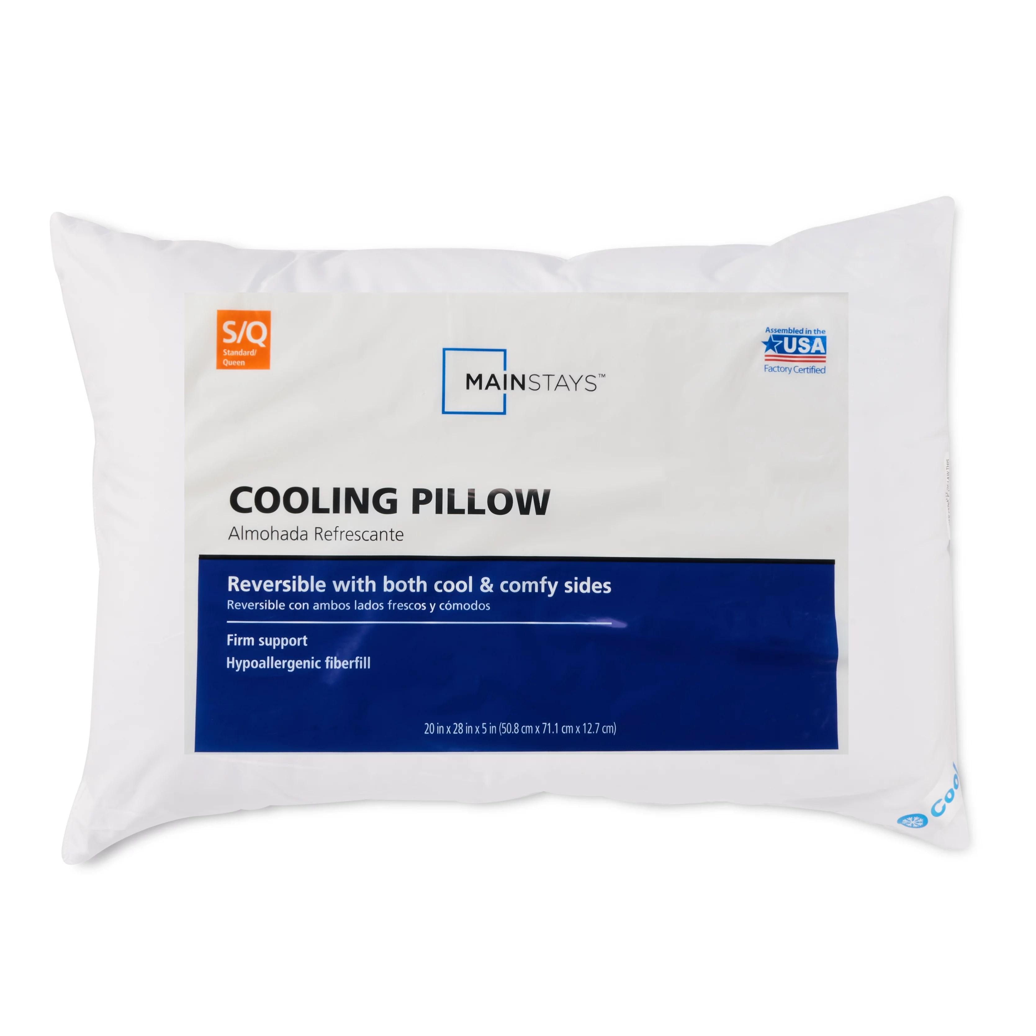 mainstays cool comfy bed pillow 20 x 28 walmart com