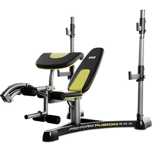 Proform Fusion 2 0 Olympic Weight Bench Walmart Com
