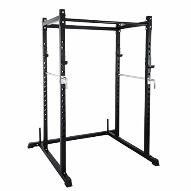 popsport deep squat rack series power rack squat barbell cage bench stand heavy duty multi grip chin up fitness power rock for home gym t 2 series