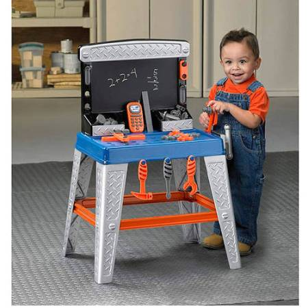 American Plastic Toys My Very Own Tool Bench ft. 34 Accessories