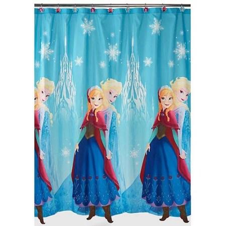 disney frozen fabric shower curtain - walmart