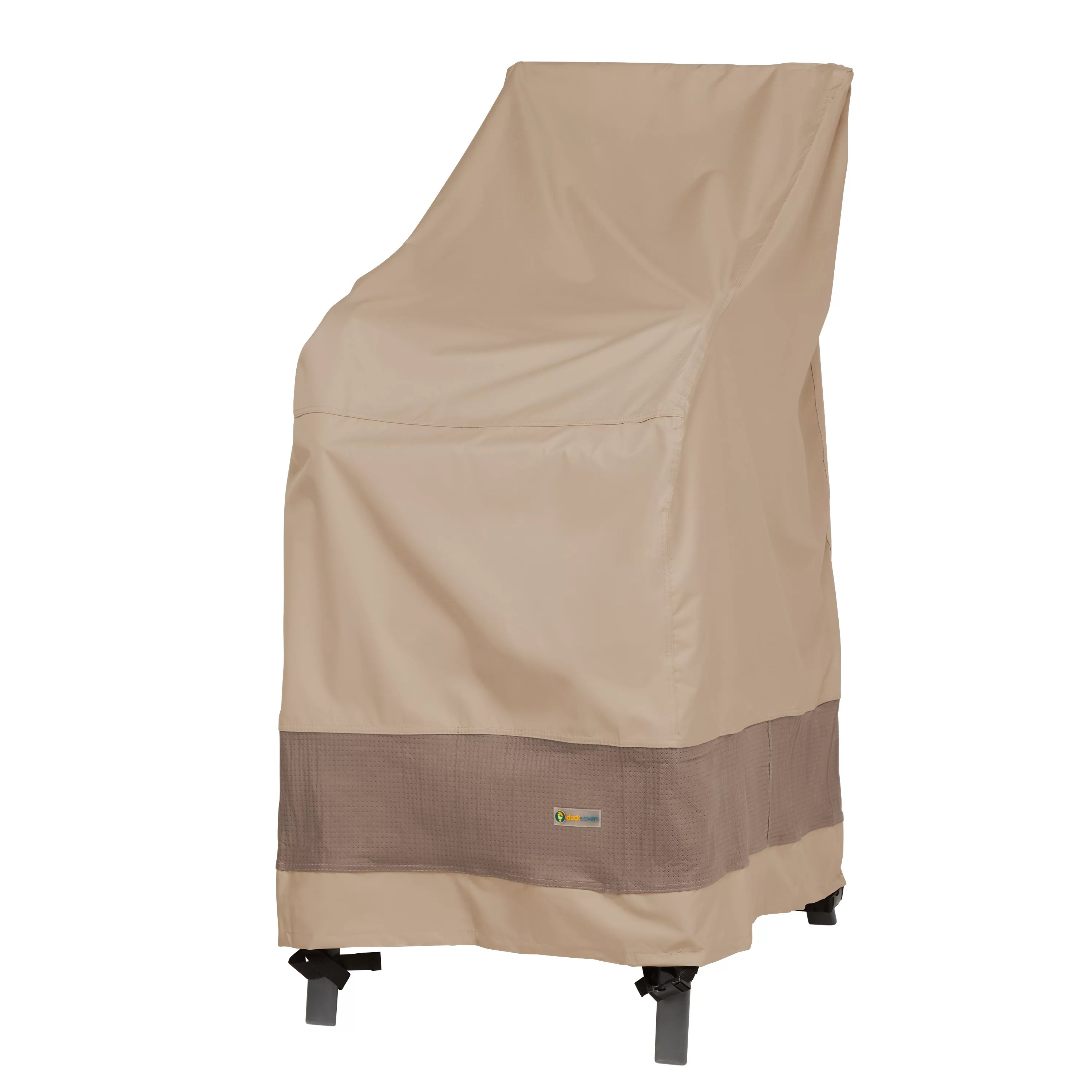 duck covers elegant waterproof 28 inch w stackable patio chair cover