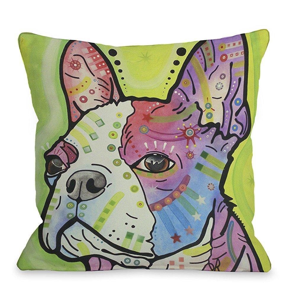 one bella casa pride throw pillow by dean russo 18 x 18 multi walmart com