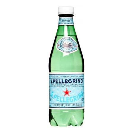 San Pellegrino Sparkling Natural Mineral Water, 16.9 Fl Oz, 12 Count
