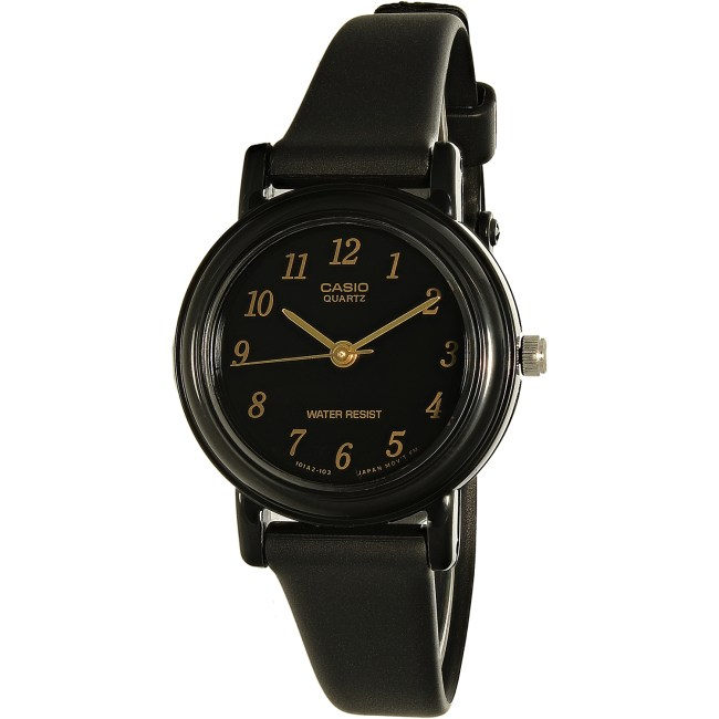 Casio Women's Core LQ139A-1 Black Resin Quartz Fashion Watch