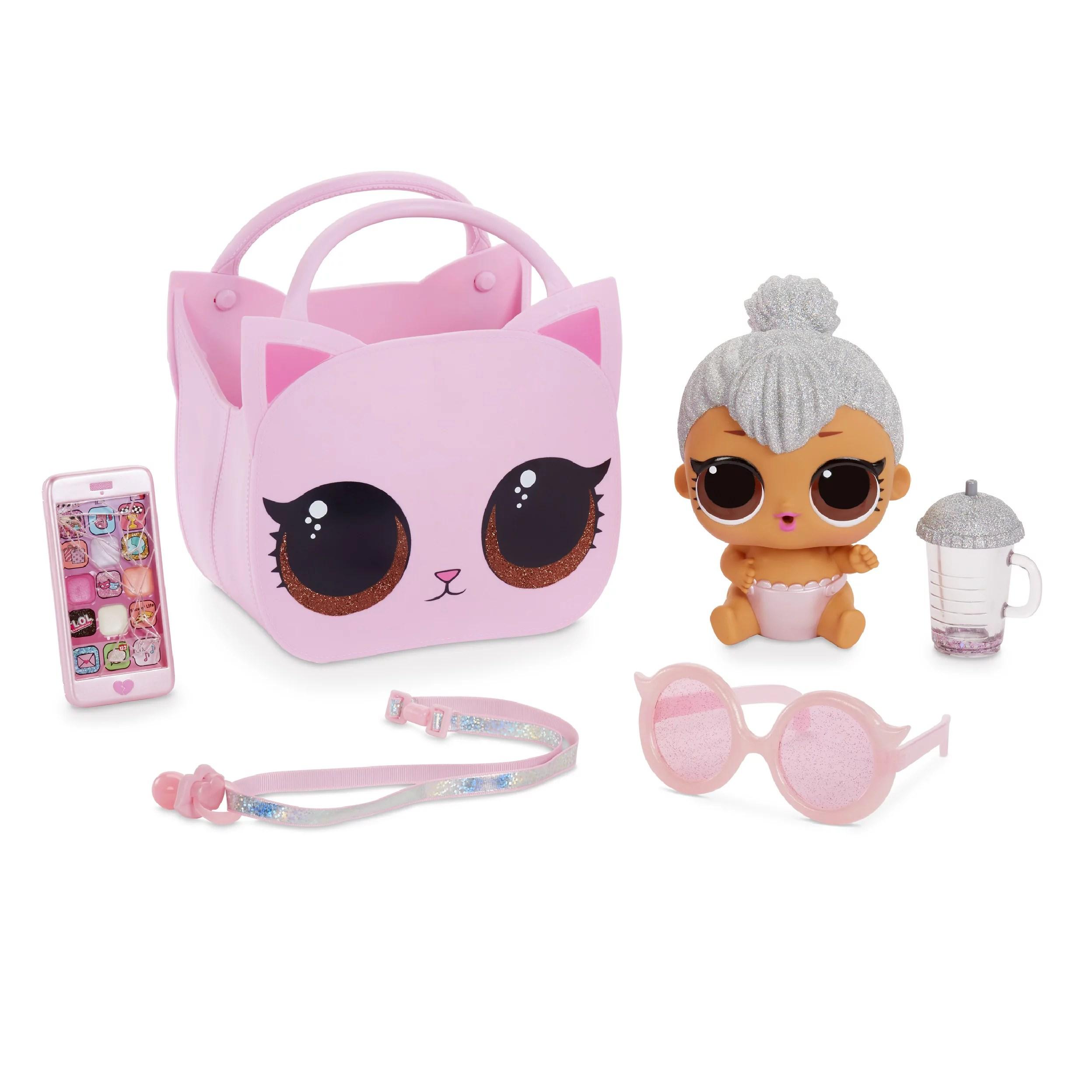 L.O.L. Surprise! Ooh La La Baby Surprise Lil Kitty Queen with Purse