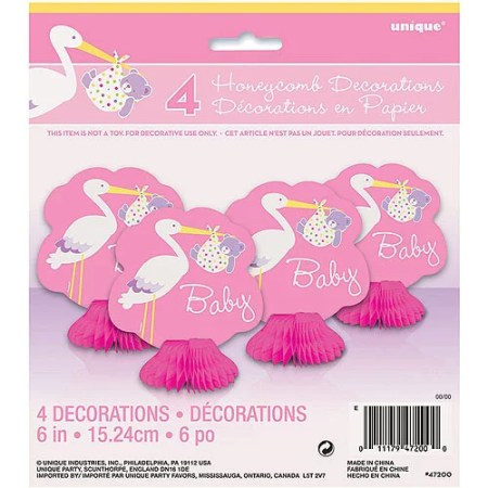 Kids Art Wire Sculpture Baby Shower Gift Announcement Stork With