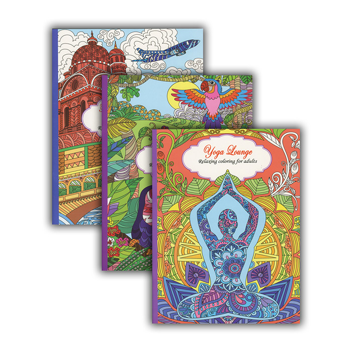 New 401647 Relaxing Coloring Book For Adults 48 Pack Coloring Books Cheap Wholesale Discount Bulk Stationery Coloring Books Activity Walmart Com Walmart Com