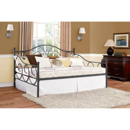 Dorel Home Victoria Full Size Metal Daybed Multiple Colors