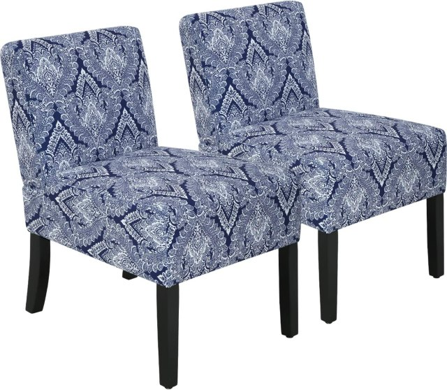 Accent Chair for living room Armless Chair modern accent ...