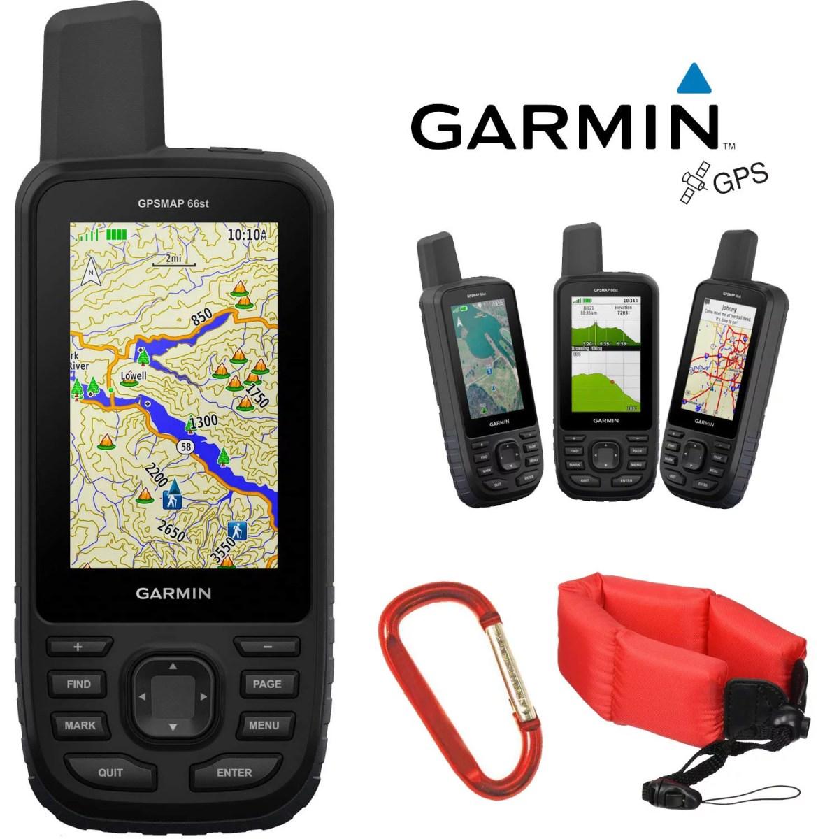 Garmin GPSMAP 66st Multi-Satellite Handheld Navigator