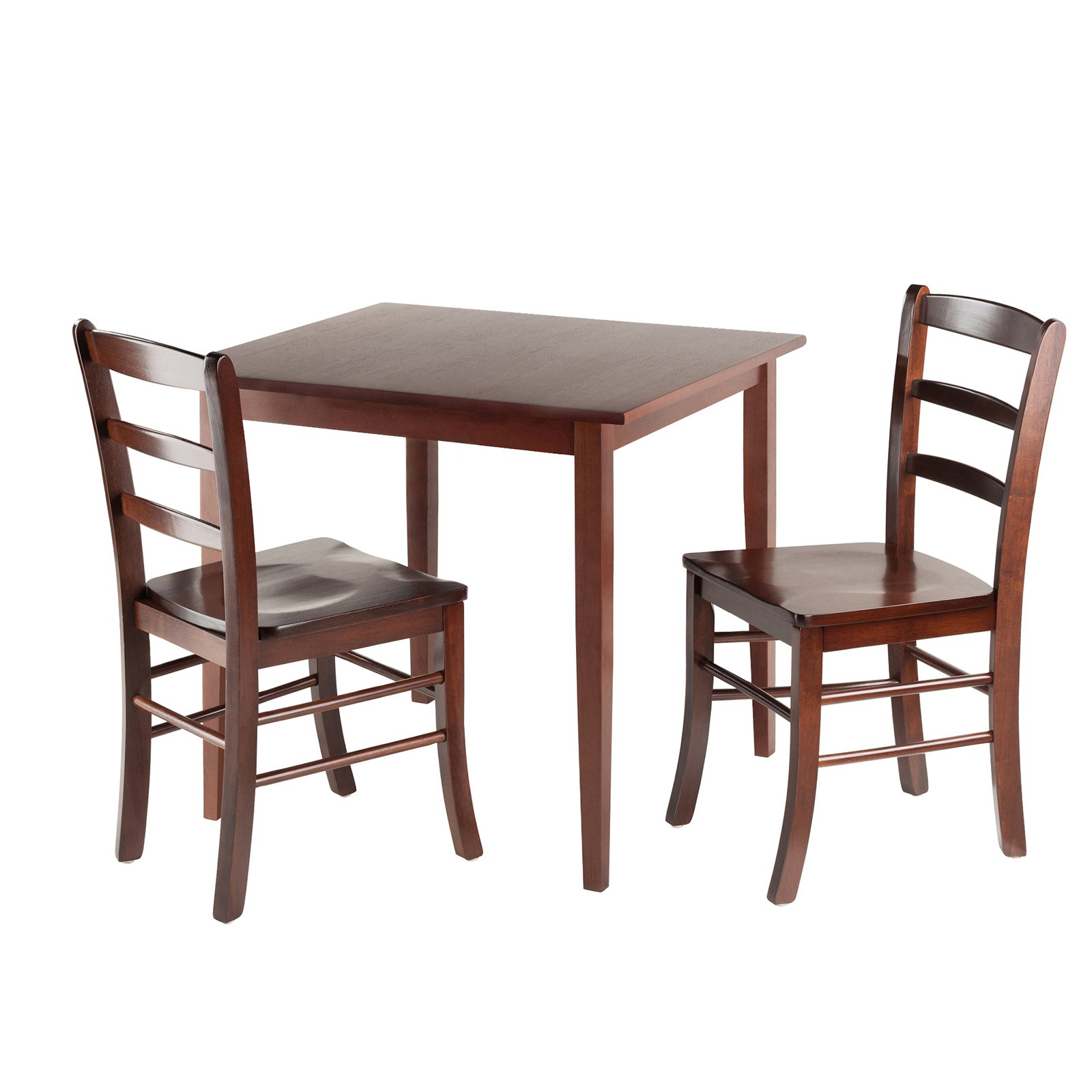 Winsome Groveland Square Dining Table With 2 Chairs 3 Piece Walmart Com Walmart Com