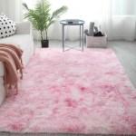 Pink Shaggy Fluffy Rugs Anti Skid Area Rug Office Carpet Home Bedroom Floor Walmart Canada